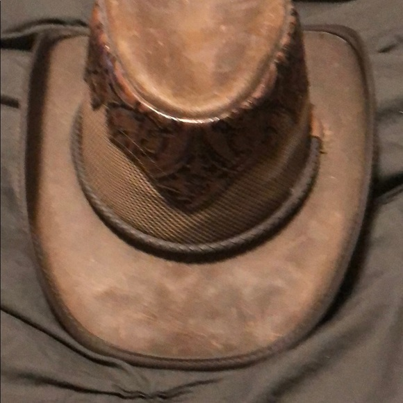 33f58432b4254e Sierra double G Accessories | Sierra Leather Double G Hat Large ...